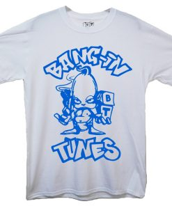 Bangin Tunes Blue Logo Kids Tee