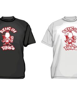 Bangin Tunes Original Red Logo T-Shirt